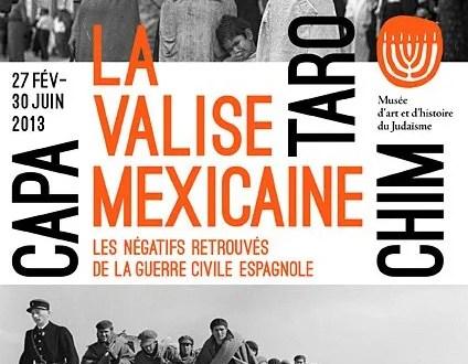 Musée d'art et histoire du Judaïsme-Capa, Taro & Chim, Paris La Valise Mexicaine, The Mexican Suitcase