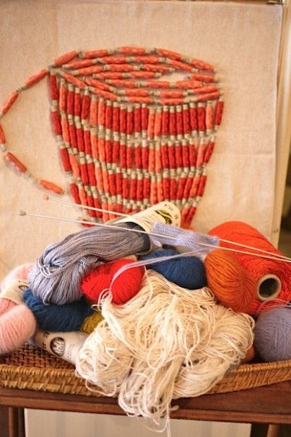 Au Ver à Soie Yarn Design