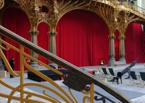 Grand Palais interior Staircase