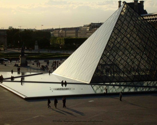 Louvre Museum Shadows