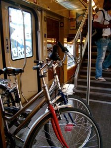 Rent a bike in Paris and take the Transilien train to Moret sur Loing