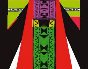 Exhibition poster L'Orient des femmes vu par Christian Lacroix Du 8 février au 15 mai 2011.