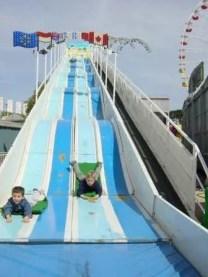 Foire de Trone Paris slide for children