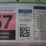 Use the QR code to find out when the next RATP bus is approaching