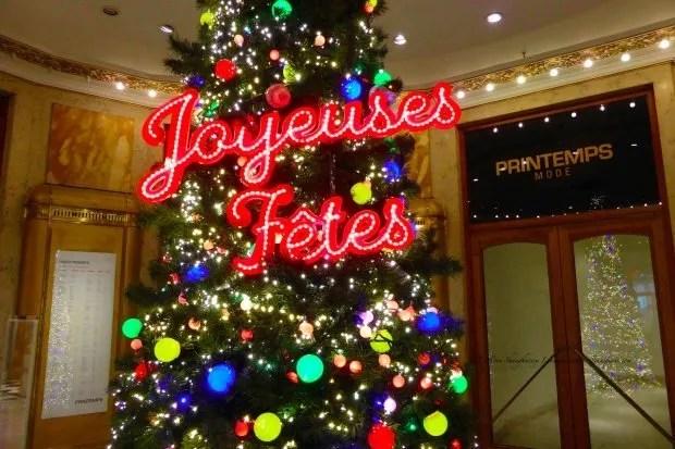 Printemps Christmas Tree 2013 Joyeuses Fetes Happy Holidays