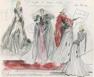 YSL Sketch-Theatre-Ball 1978
