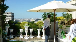 La Terrasse Hotel Raphael & Arc de Triomphe