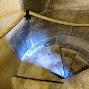 300 steps to the top - Tour Saint Jacques Chatelet Paris