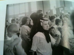 G. Winogrand photo from catalog of woman in curlers