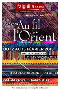 poster of Aiguille en Fete for 2015 theme Oriental threads