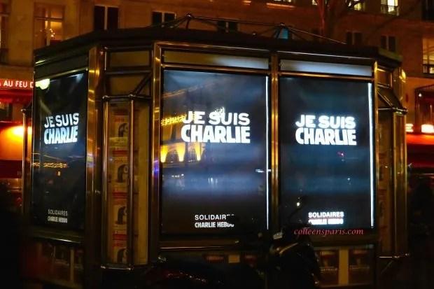 Bastille Charlie kiosk colleensparis