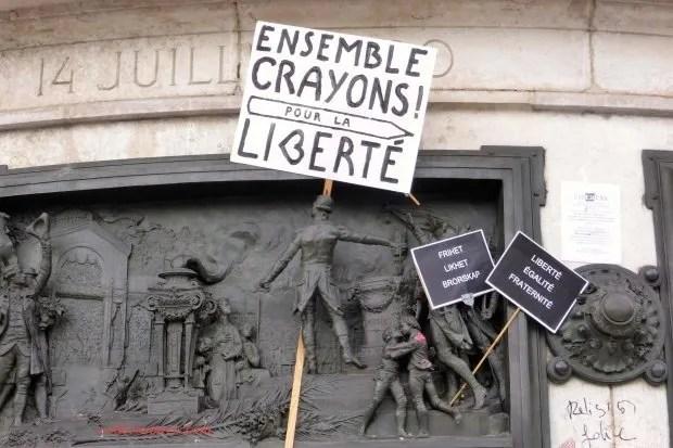 Republique Charlie Liberte colleensparis