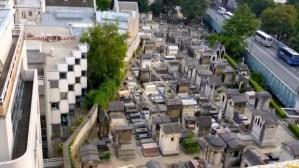Terrass' Montmartre Hotel overlooking Montmartre cemetery
