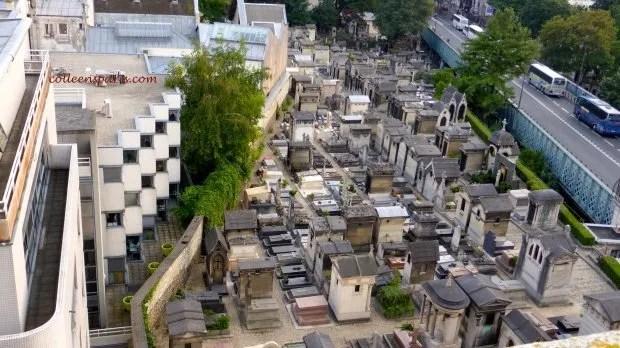 Terrass' Montmartre cemetery colleensparis