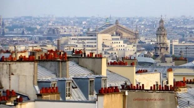 Terrass'Montmartre rooftops colleensparis