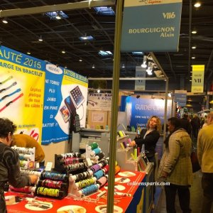 Battery and solar chargers for phones and tablets in the Concours Lepine at Foire de Paris