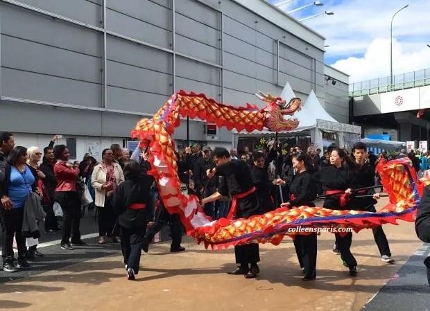 Foire Paris dragon dance
