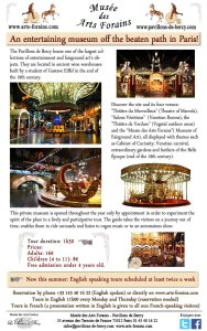 Gazette Arts Forains English Tours 2015