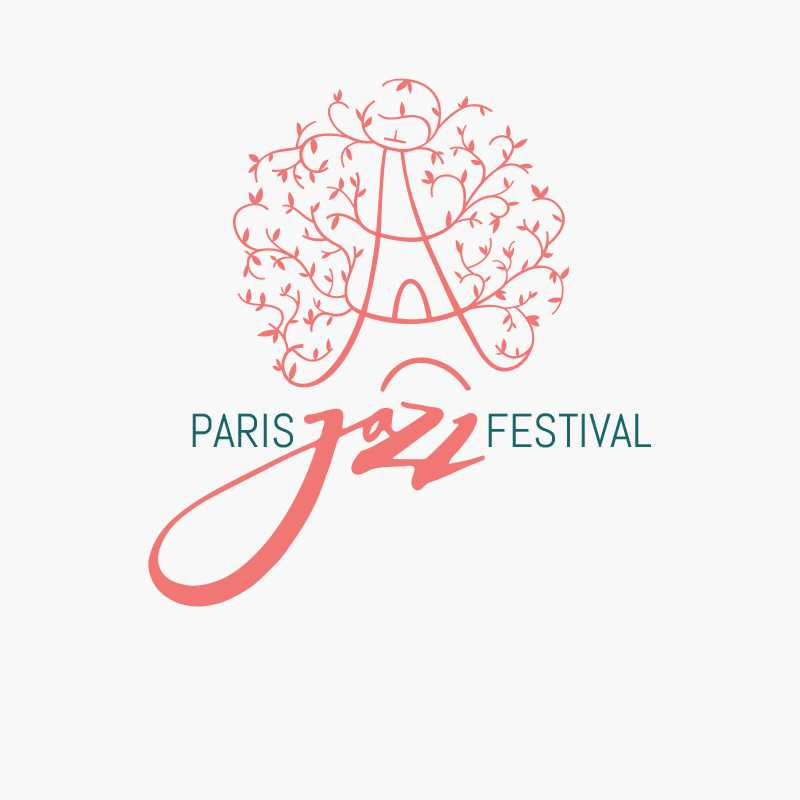 Logo for the Paris Jazz Festival