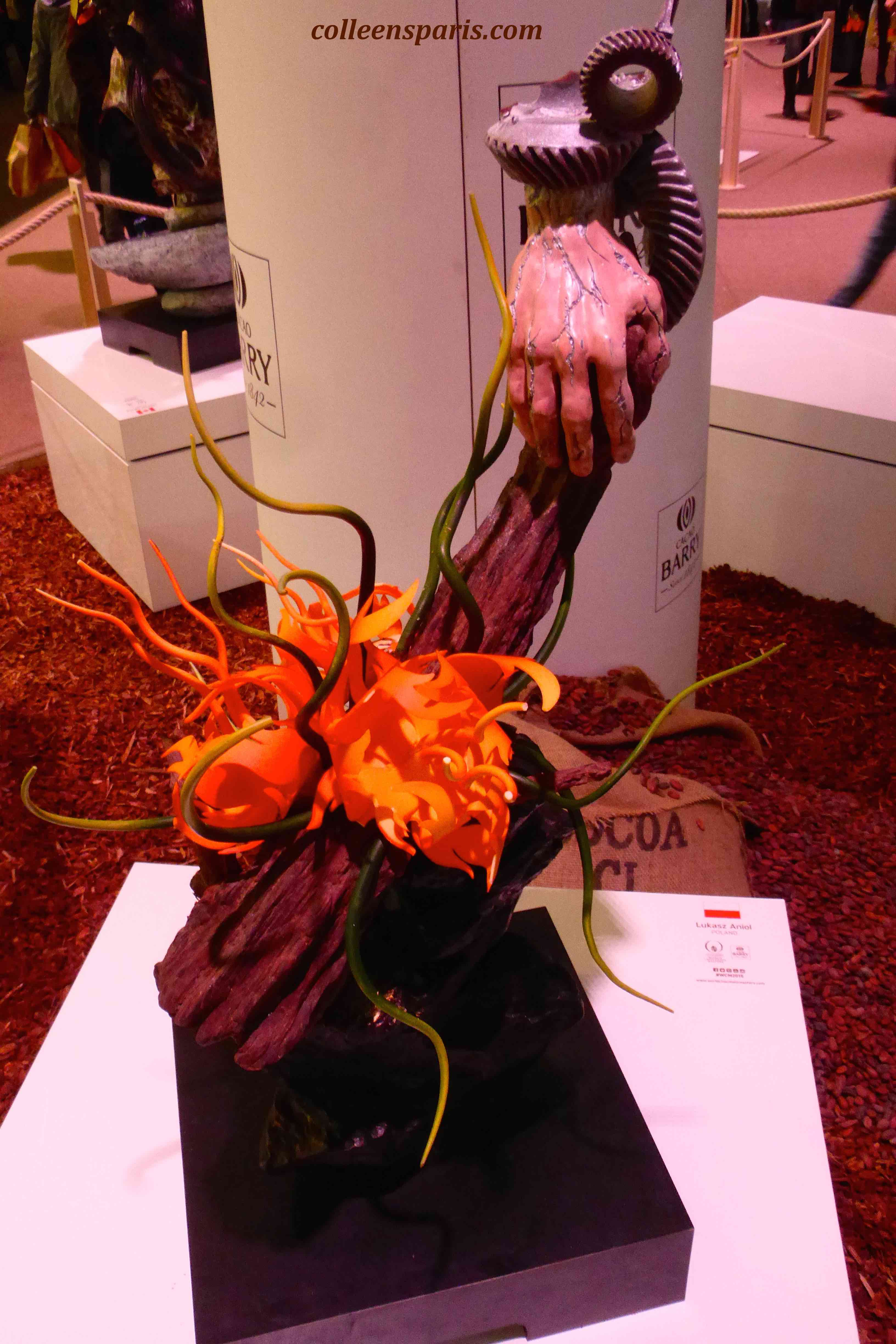 162 Salon Chocolat sculpture aniol 2015