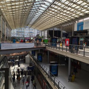 Perhaps Europe's busiest train station, Gare du Nord
