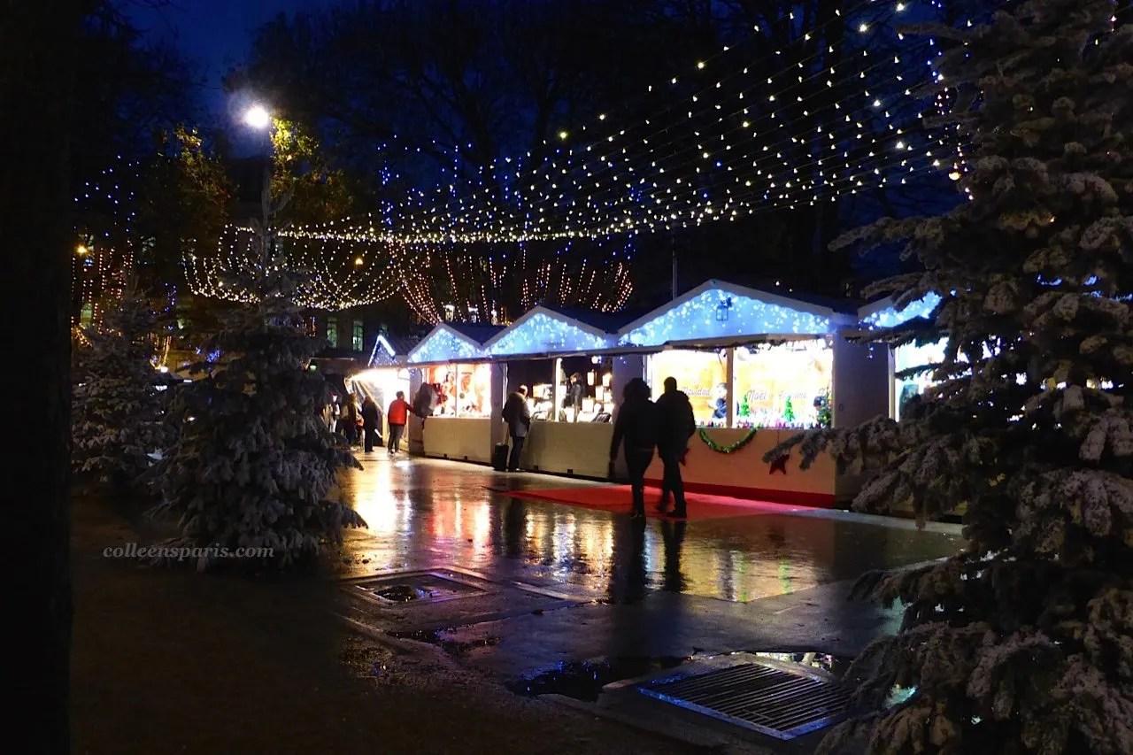 Christmas market Champs Elysees 854