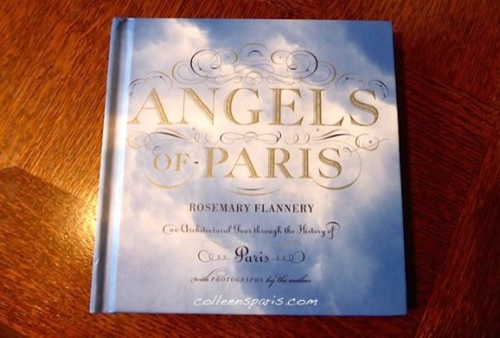 cover of Rosemary Flannery's Angels of Paris Architectural Tour through the history of Paris
