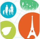 Logo for Ecowalks application - Balades de Paris durable in ITunes