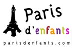 Logo for the Paris d'Enfants association with activities for children in French