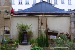 private plots in the Jardin Madeleine-de-Sudéry