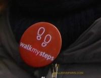 Walk my Steps button