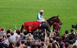 Winner of Longchamp horse race Qatar Prix Arc de Triomphe