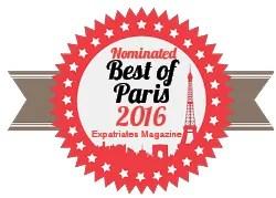 Nominated Best of Paris Blog 2016