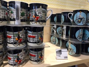 Mugs at Hotel de Ville Paris Rendez-Vous Paris tourist office