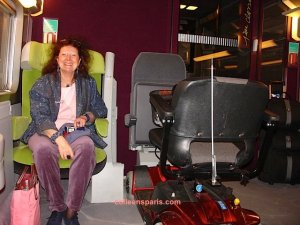 Madeleine from Mulhouse with MS - TGV traveler