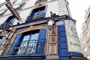 Lapérouse Restaurant store front, Paris