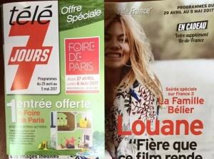 Image of Tele7Jours with 2 for 1 Foire de Paris entry coupon