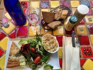 Tea Salon lunch Halle Saint Pierre Montmartre Paris during Caro/Jeunet exhibit