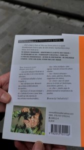 Street Art guidebook with ISBN code