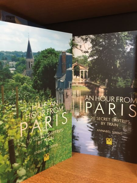 Half an Hour from Paris Annabel Simms' latest release for train trips