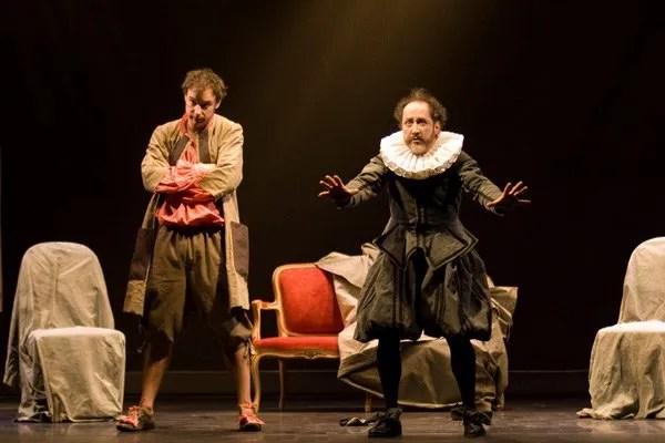Publicity photo for Moliere's The Miser or the Scrooge (l'Avare), Ranelagh Theatre, Paris
