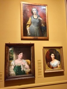 Paintings of Romantic era actresses