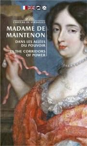Handout Exhibition Brochure cover Madame de Maintenon