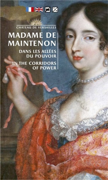 Handout Exhibition Brochure cover Madame de Maintenon