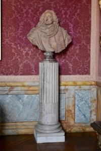 Bust of Guillaume de Lamoignon (16-17-1677) First President of the Paris Parliament in the Palace of Versailles