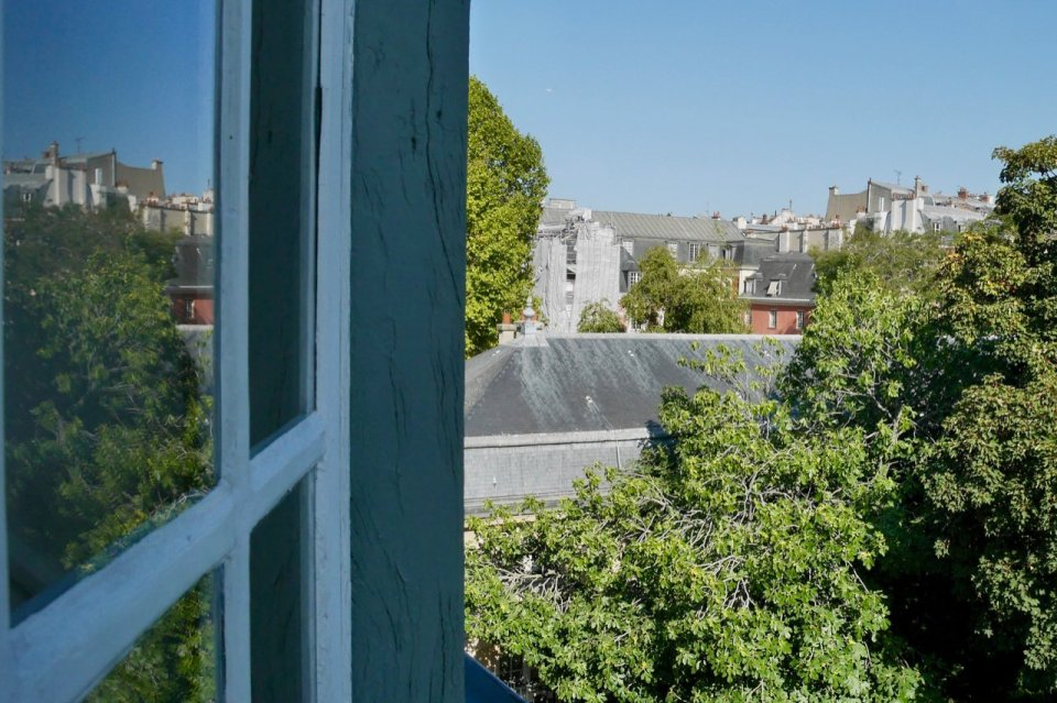 """Rooftop view from apartment """"Murmure de couture"""""""