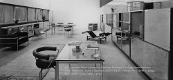 Interior of an apartment Charlotte Perriand, architect, designer, artist