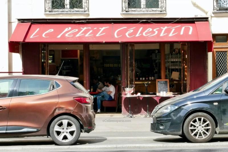 image of restaurant along Quai des Celestins