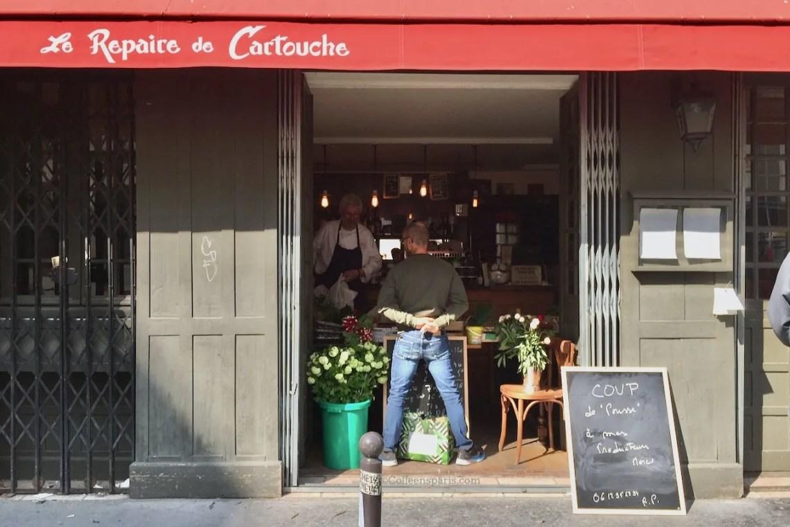 Image of the Amelot entrance Repaire de Cartouche