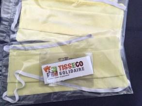 Non-profit organization Tisseco Solidaire stand
